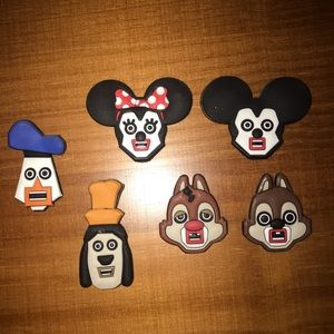 Tokyo Disneyland Cubic Mouth Magnets